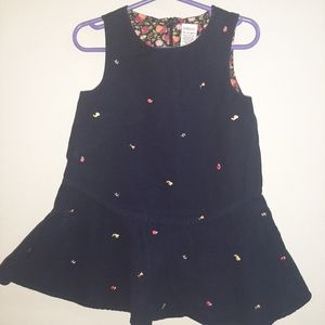 Gymboree Vintage Apple for Teacher Pinafore Dress